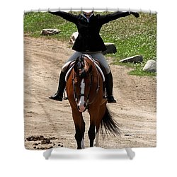 Hunter1 Shower Curtain