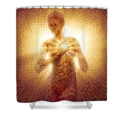 I Am Love Shower Curtain