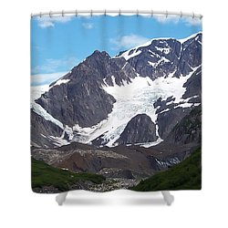 Shower Curtain featuring the photograph Ice And Snow by Aimee L Maher Photography and Art Visit ALMGallerydotcom