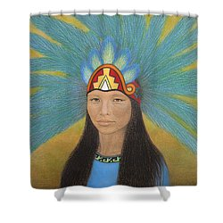 Ichpochtli Shower Curtain