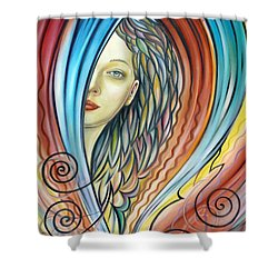 Illusive Water Nymph 240908 Shower Curtain