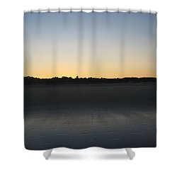 In The Shadow Of The Dunes Shower Curtain