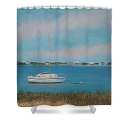 Inlet Drive Shower Curtain