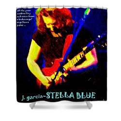 Shower Curtain featuring the photograph Dust Off Those Rusty Strings by Susan Carella