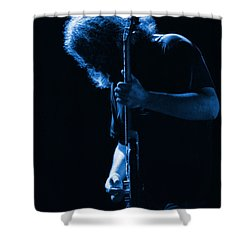 Jerry Blue Sillow Shower Curtain
