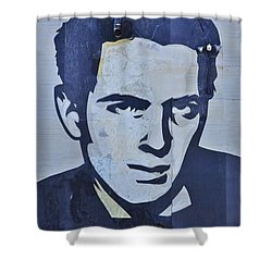 Joe Strummer Shower Curtain