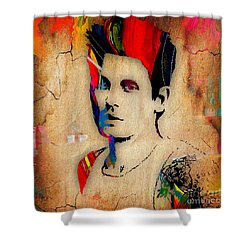 John Mayer Collection Shower Curtain