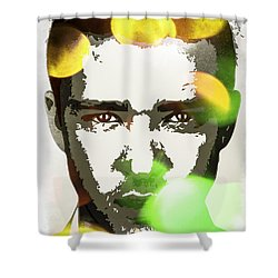 Justin Timberlake Shower Curtain by Svelby Art