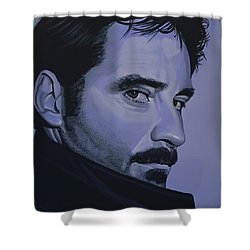 Kevin Kline Shower Curtain by Paul Meijering