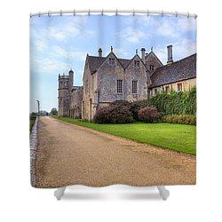 Lacock Abbey Shower Curtain by Joana Kruse