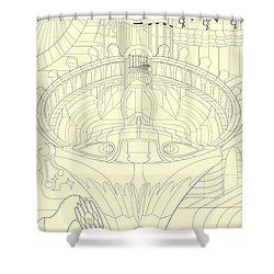 Laicepse Rodatam  Shower Curtain by Jason Secor