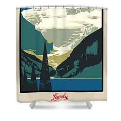 Lake Louise Shower Curtain by Gary Grayson