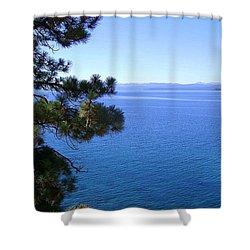 Lake Tahoe 2 Shower Curtain by J D Owen