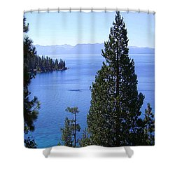 Lake Tahoe 4 Shower Curtain by J D Owen
