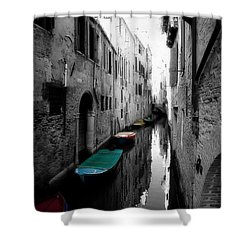 Shower Curtain featuring the photograph L'aqua Magica by Micki Findlay