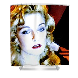 Laura Palmer Shower Curtain