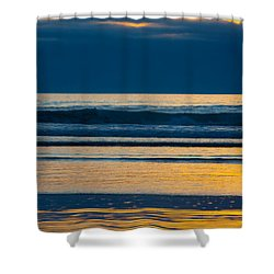 Layers Shower Curtain by Dana Kern