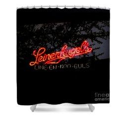 Leinenkugel's Shower Curtain by Kelly Awad