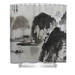 Li River Shower Curtain
