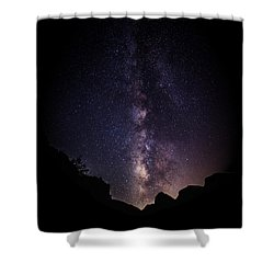 Heaven Come Down Shower Curtain