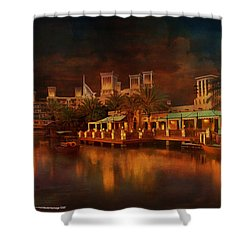 Madinat Jumeirah Shower Curtain by Catf