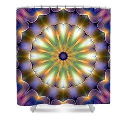 Mandala 105 Shower Curtain by Terry Reynoldson