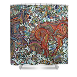 Market Nature Shower Curtain