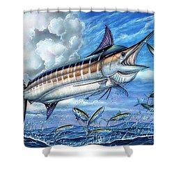 Marlin Queen Shower Curtain