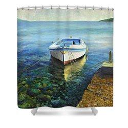 Martinscica Shower Curtain by Joe Maracic