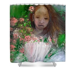 Mary Rosa Shower Curtain