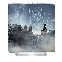 Mascleta Valenciana Shower Curtain