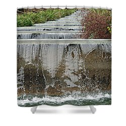 Meridian Hill Park Shower Curtain by Cora Wandel