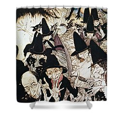 Mother Goose, 1913 Shower Curtain by Granger