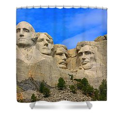 Mount Rushmore South Dakota Shower Curtain