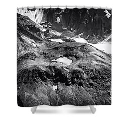 Shower Curtain featuring the photograph Mt St. Helen's Crater by David Millenheft
