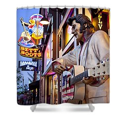 Music City Usa Shower Curtain
