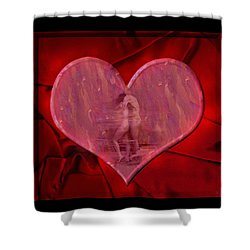 My Hearts Desire Shower Curtain