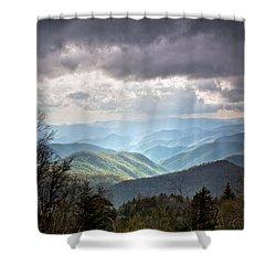 New Beginning Shower Curtain by Rob Travis