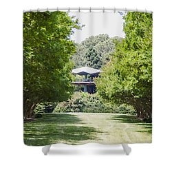 Norfolk Botanical Garden 1 Shower Curtain by Lanjee Chee
