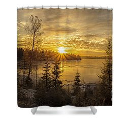 Shower Curtain featuring the photograph Norway by Rose-Maries Pictures
