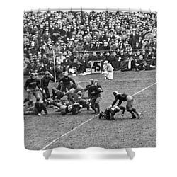 Notre Dame-army Football Game Shower Curtain by Underwood Archives
