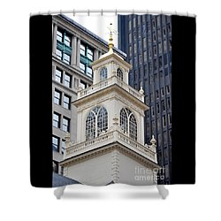 Old State House Boston Ma Shower Curtain