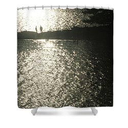 2 At The Beach Shower Curtain