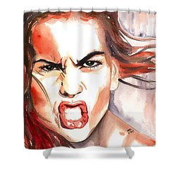Outrage Shower Curtain