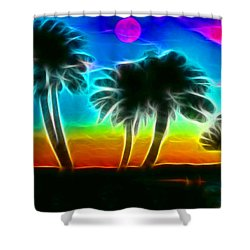 Shower Curtain featuring the photograph Paradise by Tammy Espino