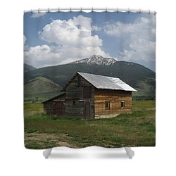 Paradise Valley Montana Shower Curtain