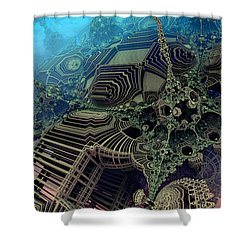 Parallel World  Shower Curtain