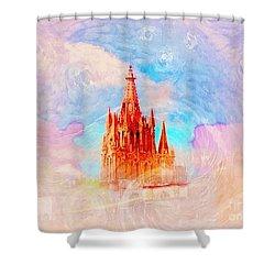 Shower Curtain featuring the photograph Parish Of St. Michael The Archangel by John  Kolenberg
