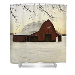 Patterson Barn Shower Curtain by Mary Ann King