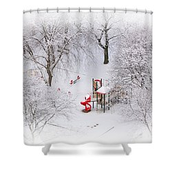 Peace On Earth Shower Curtain